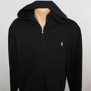 Polo Ralph Lauren full zip hoodie.  L